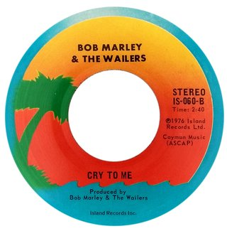"7"" Bob Marley & the Wailers - Roots Rock Reggae/Cry To Me [NM] - comprar online"