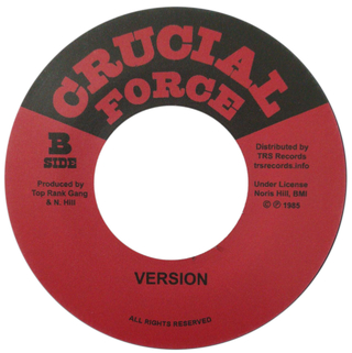 "7"" Chuck Turner - Danger Sound/Version [NM] - comprar online"