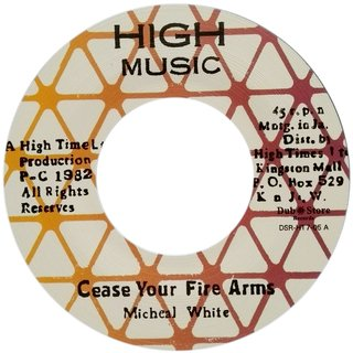 "7"" Clive Hylton/Michael White - Slavery/Cease Your Fire Arms [NM] - comprar online"