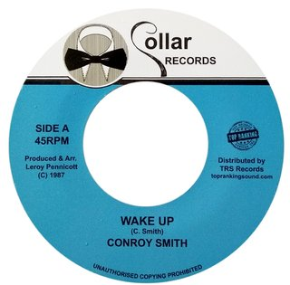 "7"" Conroy Smith - Wake Up/Version [NM]"