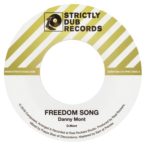 "7"" Danny Mont - Freedom Song/Version [NM]"