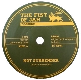 "7"" Darius & King Doble - Not Surrender/Riddim [NM]"