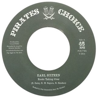 "7"" Earl 16 - Roots Taking Over/Dub Taking Over [NM]"