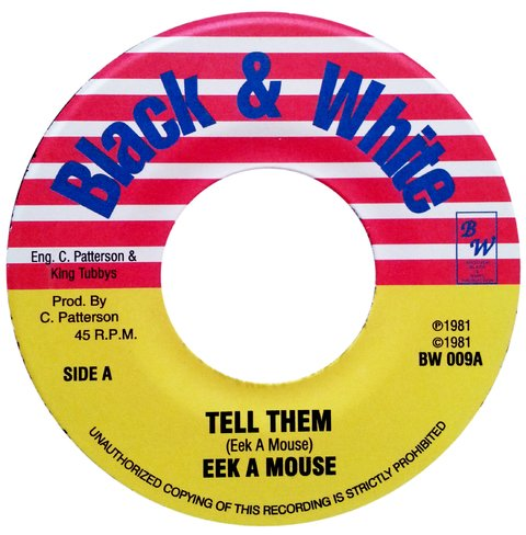 "7"" Eek A Mouse - Tell Them/Tall Man Dub [NM]"