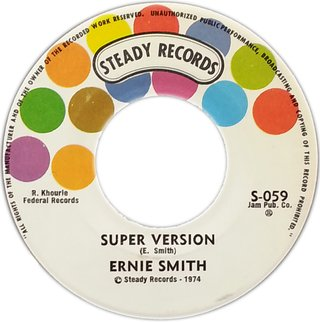 "7"" Ernie Smith - All For Jesus/Super Version (Original Press) [VG+] - comprar online"