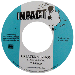 "7"" Errol Dunkley - Created By The Father/Version [NM] - comprar online"