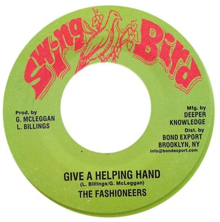"7"" Fashioneers - Give A Helping Hand/Version [VG+]"