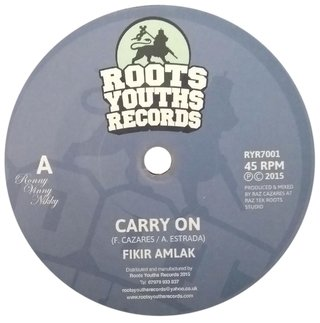 "7"" Fikir Amlak - Carry On/Version [NM]"