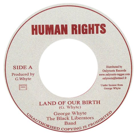 "7"" George Whyte - Land Of Our Birth/Native Version [VG+]"