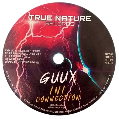 "7"" Guux/Subzulu - InI Connection/Connection Dub [NM]"