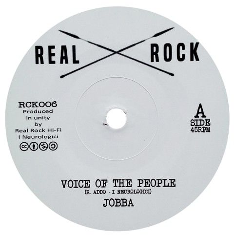 "7"" Jobba/I Neurologici - Voice Of The People/Dub Of The People [NM]"