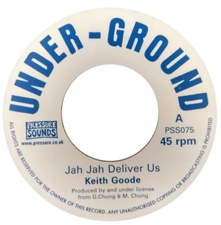 "7"" Keith Goode - Jah Jah Deliver Us/Version [NM]"