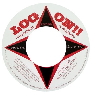 "7"" Kendrick Andy/Alien Dread - What Of The Wicked/What Of The Wicked Dub [NM]"