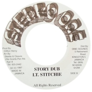 "7"" Lt. Stitchie - Story Time/Story Dub [NM] - comprar online"