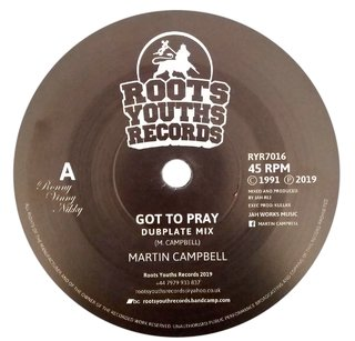 "7"" Martin Campbell - Got To Pray/Praying Dub [NM]"