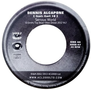 "7"" Mike Brooks/Dennis Alcapone & Earl 16 - Blessed Is The Man/Serious World [M]"