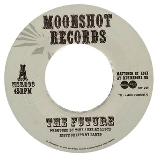 "7"" Moonshot Allstars - The Future/Future Dub [VG+] - comprar online"