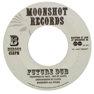 "7"" Moonshot Allstars - The Future/Future Dub [VG+]"