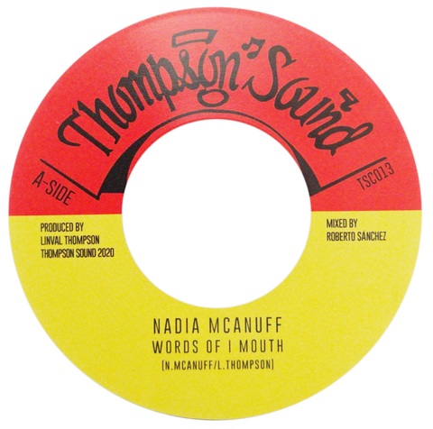 "7"" Nadia McAnuff - Words Of I Mouth/Dub Of I Mouth [NM]"