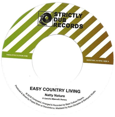 "7"" Natty Nature - Easy Country Living/Version [NM]"