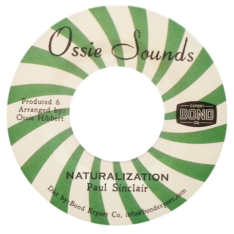 "7"" Paul Sinclair - Naturalization/Version [NM]"