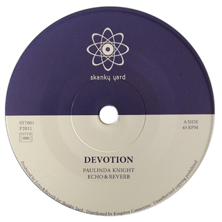 "7"" Paulinda Knight/Echo & Reverb - Devotion/Devoted Dub [NM]"