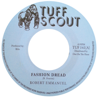 "7"" Robert Emmanuel - Fashion Dread/Version Dread [NM]"