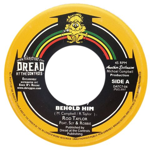 "7"" Rod Taylor - Behold H.I.M/Parrot Jungle [VG+]"