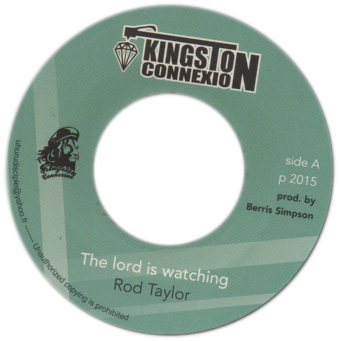 "7"" Rod Taylor - The Lord Is Watching/Dub Plate Mix [NM]"