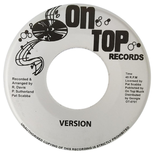 "7"" Ronnie Davis - Laugh It Off/Version [NM] - comprar online"