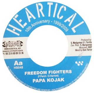 "7"" Silvertones/Papa Kojak - Poverty/Freedom Fighters [NM] - comprar online"