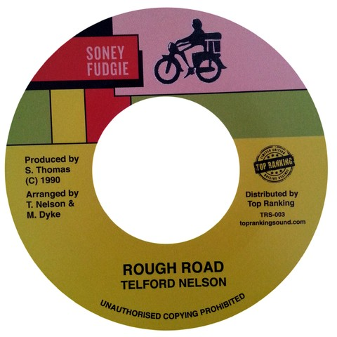 "7"" Telford Nelson - Rough Road/Version [NM]"