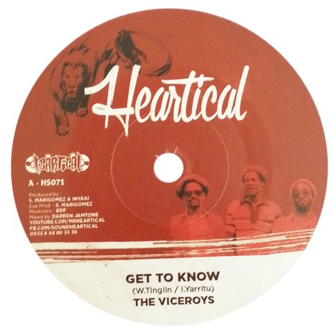 "7"" Viceroys/BDF - Get To Know/Assaulting Dub [NM]"