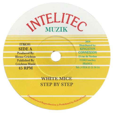 "7"" White Mice - Step By Step/Version [NM]"