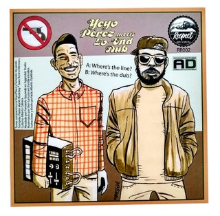"7"" Yeyo Perez - Wheres The Line/Wheres The Dub [NM] - Subcultura"