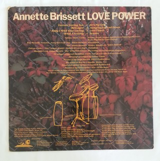 LP Annette Brissett - Love Power (Original Press) [VG+] na internet