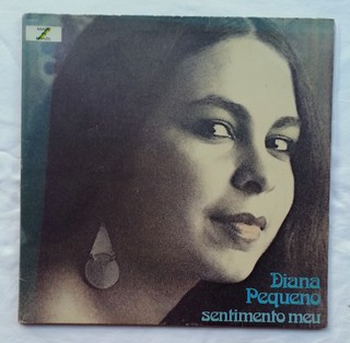 LP Diana Pequeno - Sentimento Meu (Original Press) [VG+]