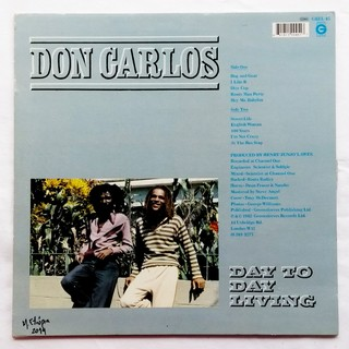 LP Don Carlos - Day to Day Living [VG] - comprar online