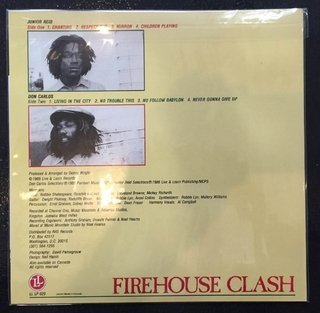 LP Jr. Reid & Don Carlos - Firehouse Clash [M] - Subcultura