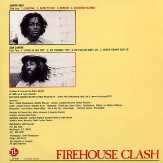 LP Jr. Reid & Don Carlos - Firehouse Clash [M] - comprar online