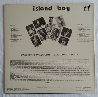 LP King Eric & His Knights - Island Boy (Original Press) [VG+] - comprar online