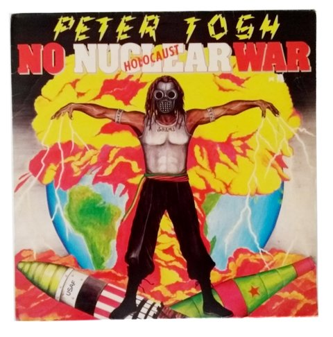 LP Peter Tosh - No Nuclear War (Original BR Press) [VG+]