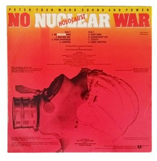 LP Peter Tosh - No Nuclear War (Original BR Press) [VG+] - comprar online