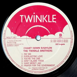 LP Twinkle Brothers - Chant Down Babylon (Original Press) [VG+] - Subcultura