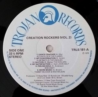LP V.A. - Creation Rockers Vol. 2 (Original Press) [VG+] na internet
