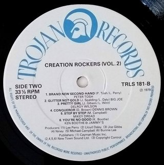 LP V.A. - Creation Rockers Vol. 2 (Original Press) [VG+] - Subcultura