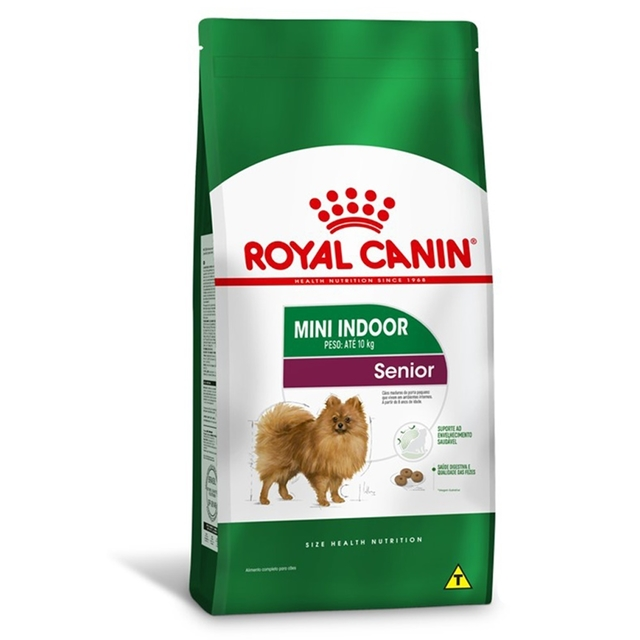 Royal Canin Cães Senior Mini Indoor 1kg