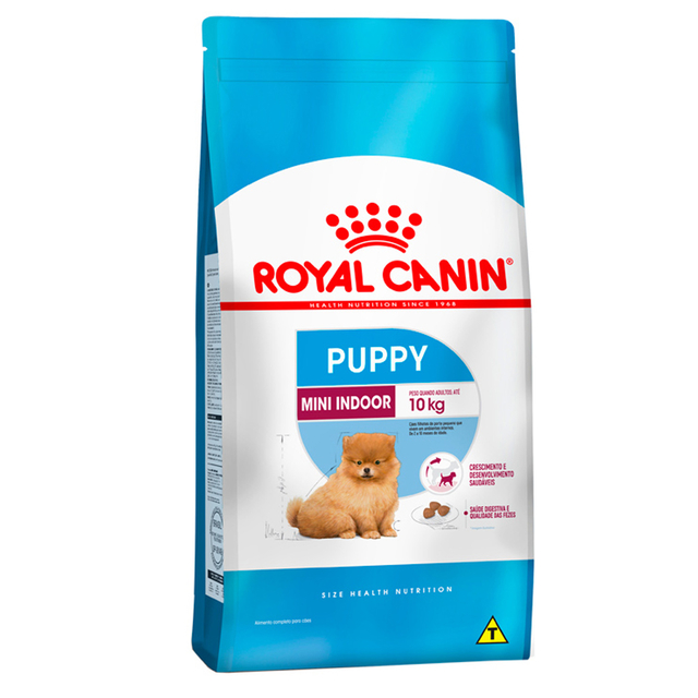 Royal Canin Cães Filhotes Mini Indoor 1kg