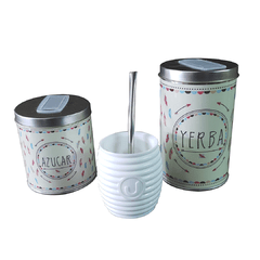 Art. 3538 | Set Latas Vinilo + Mate Sonico en internet