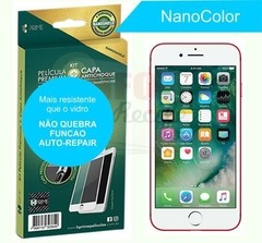 Kit Premium HPrime NanoColor Branco Iphone 7 e 8